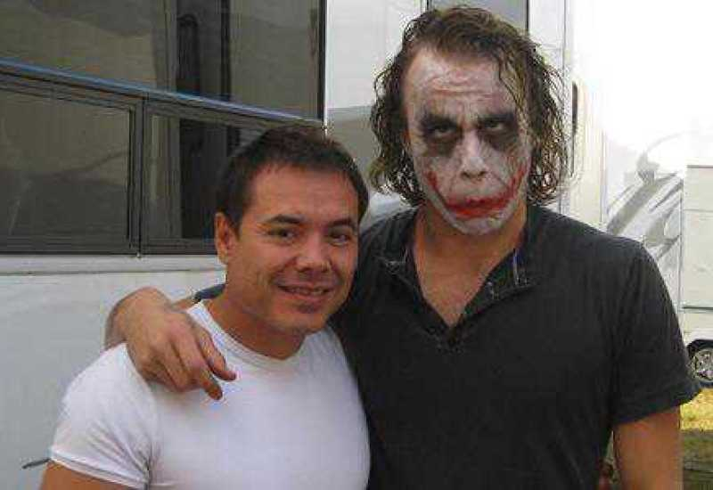 Heath Ledgers Joker - Never Seen Set Photos