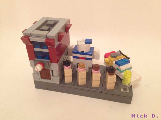 TV Show And Movie LEGO Builds