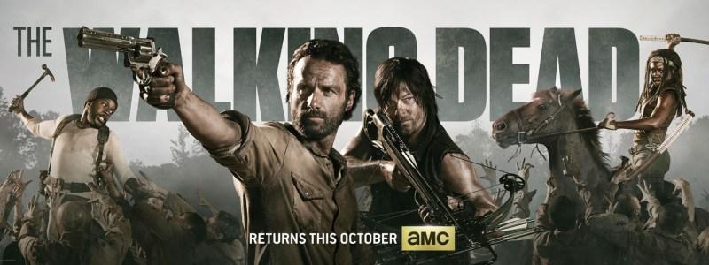 The Walking Dead Season 4 banner