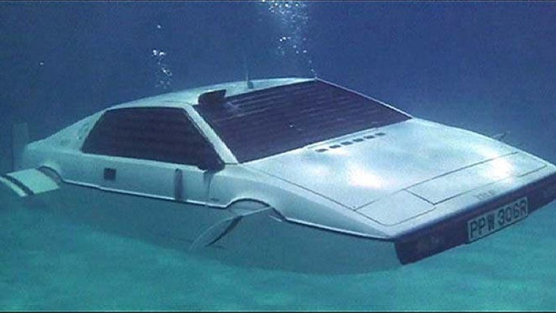 The Lotus from 'The Spy Who Loved Me'
