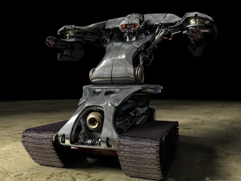 TERMINATOR 3 T-1 Robots