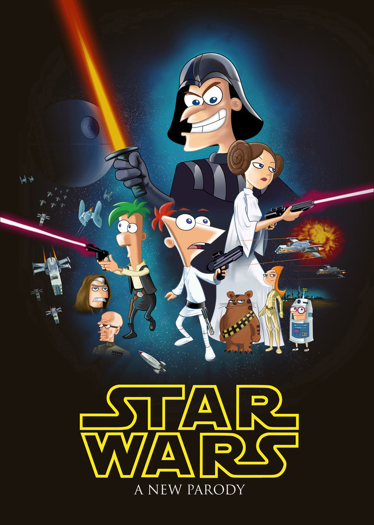 Phineas and Ferb and Star Wars