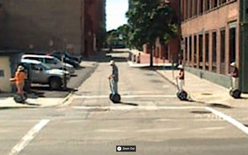 amazing google street view