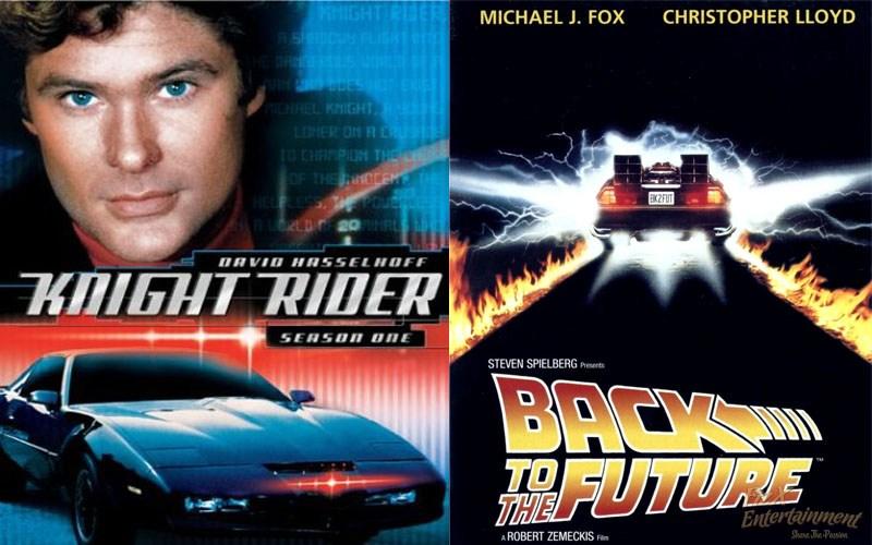 Knight Rider - Back to the future Mashup