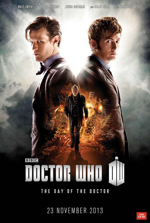 Doctor Who's 50th Anniversary Special Poster Revealed