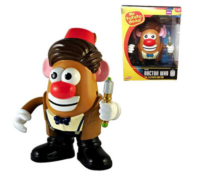 Officially Licensed Doctor Who Mr. Potato Head Toy