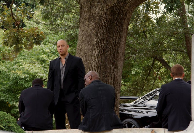fast & furious 7 pictures