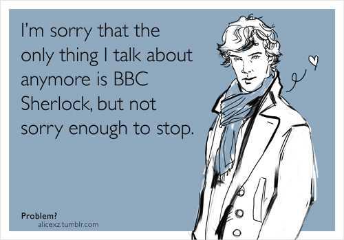 Brilliant Sherlock ECards