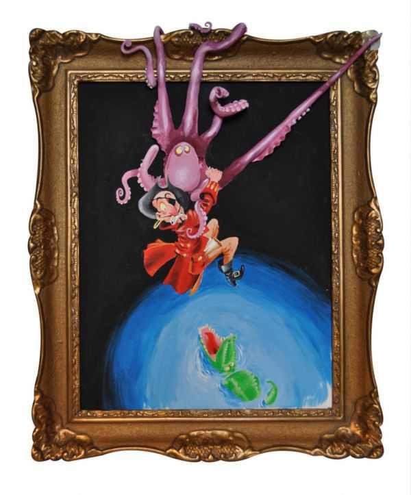 Olsen's Cartoonish Paintings