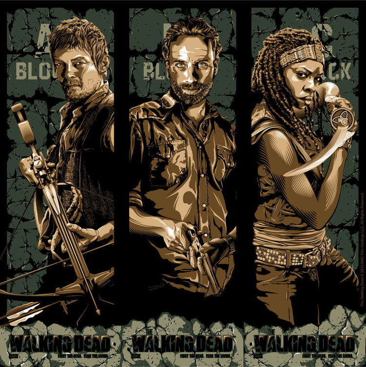 The Walking Dead Art