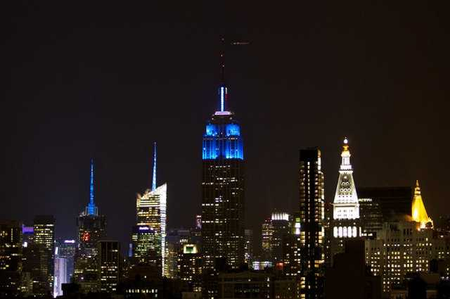 Petition To Light The Empire State Building TARDIS Blue