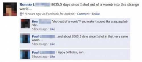 Facebook Facepalms