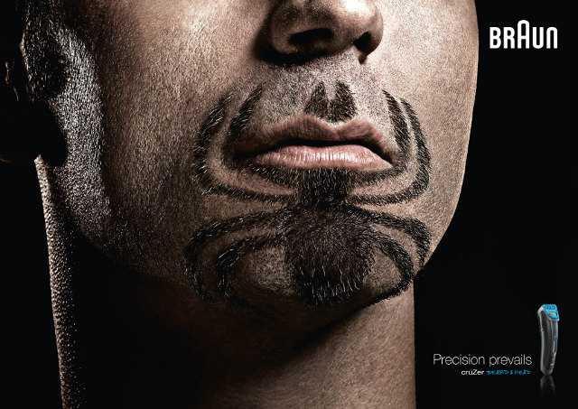 Superhero Logo Beards