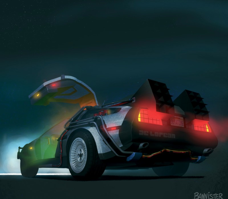 back to the future artwork