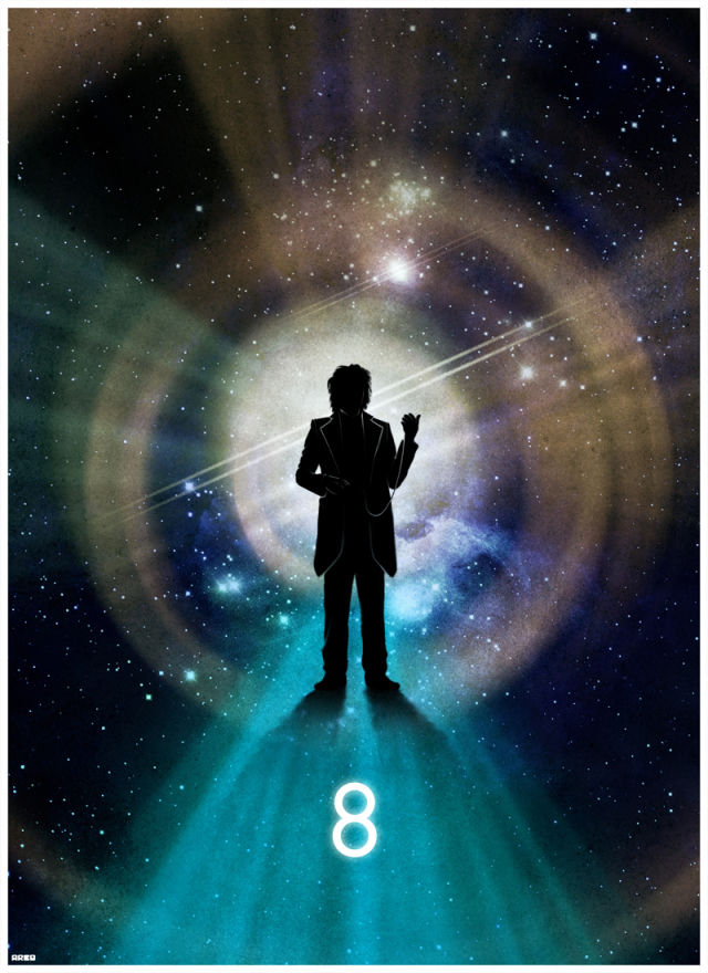 DOCTOR WHO Silhouette Art