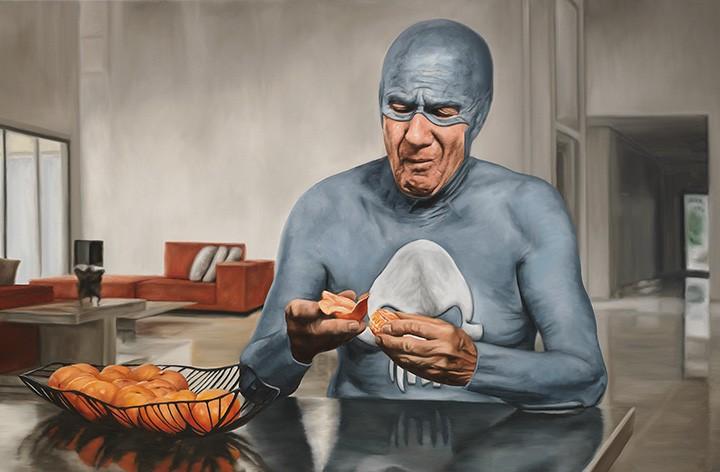 Superhero Getting Old