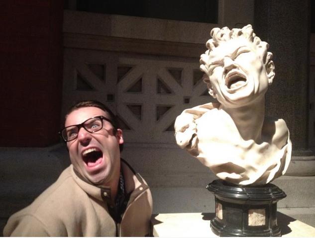 Having Fun At The Museum