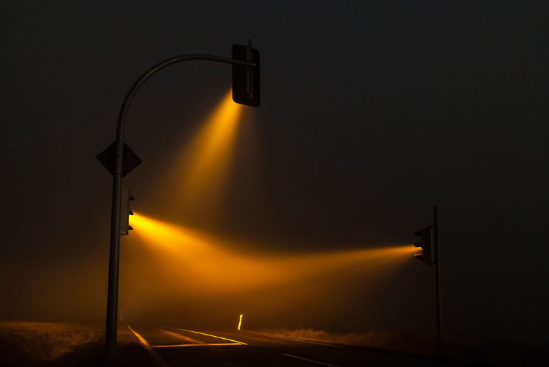 Stunning Photos of Traffic Lights