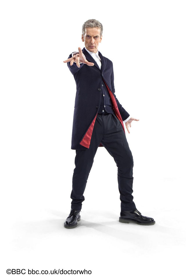 Peter Capaldi's New Costume