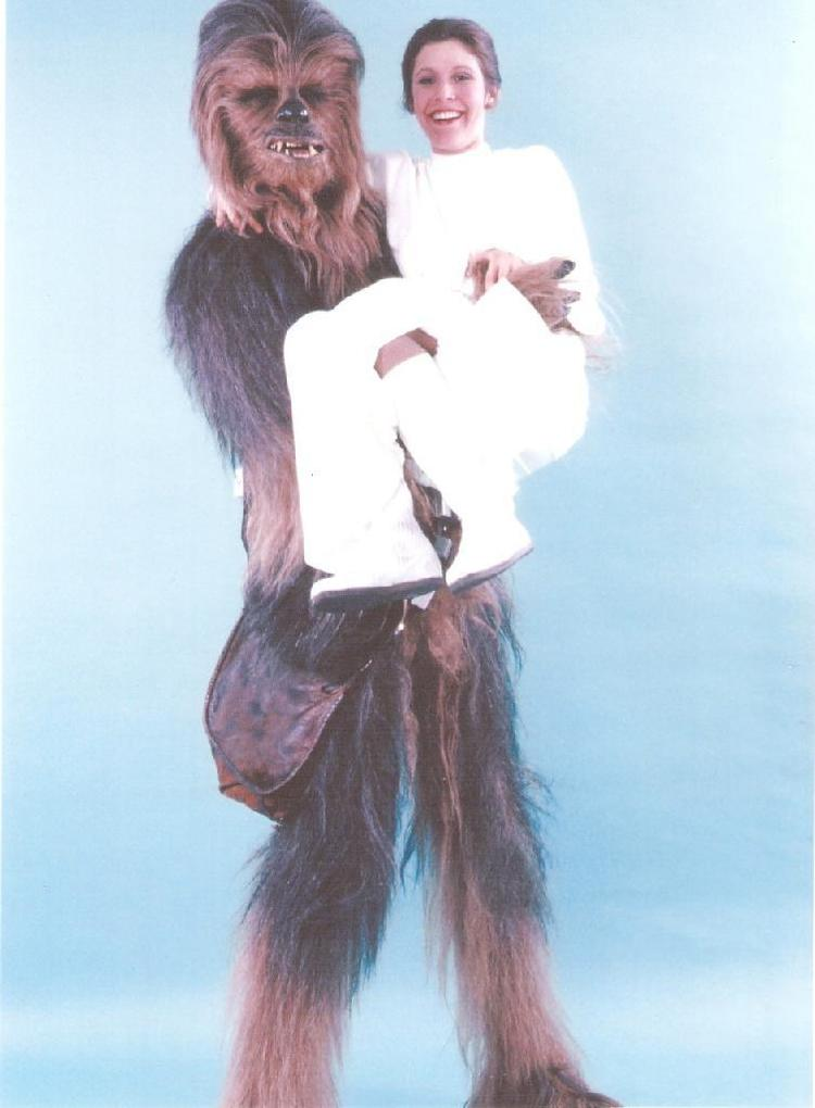 Chewbacca Releases Vintage Star Wars Behind-the-Scenes Photos