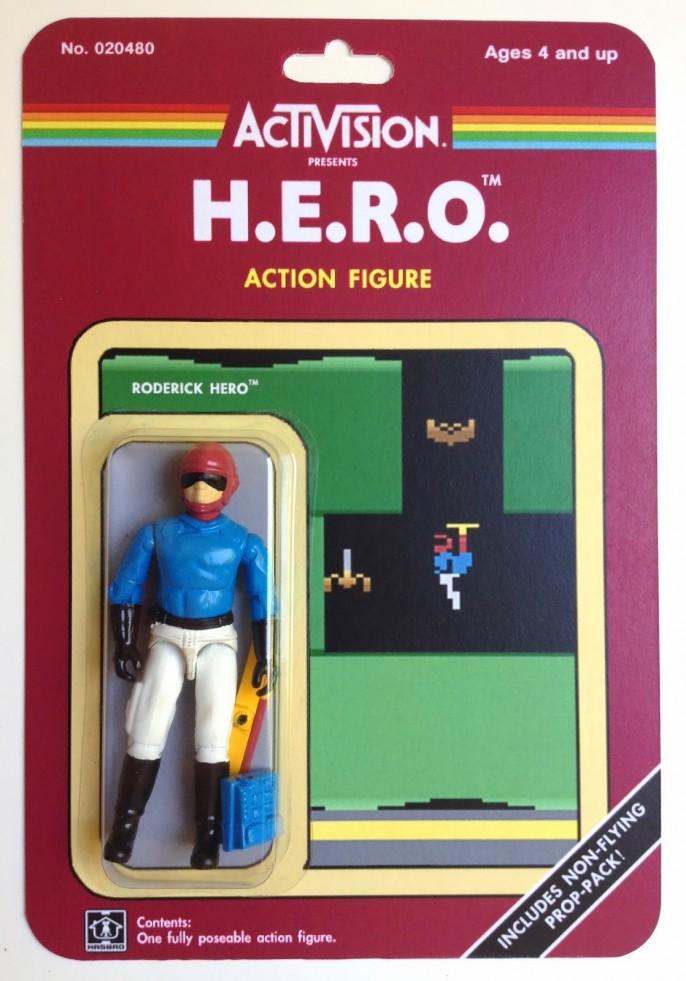 Atari Video Game Custom Made Action Figures