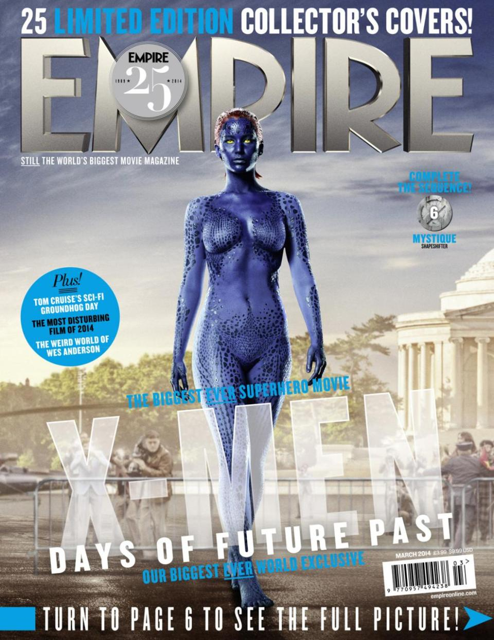 X-MEN DAYS OF FUTURE PAST Character Magazine Covers