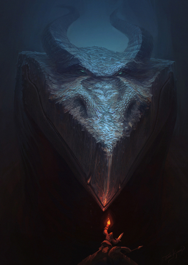 Playful Dragon Designs by Tommy Kinnerup