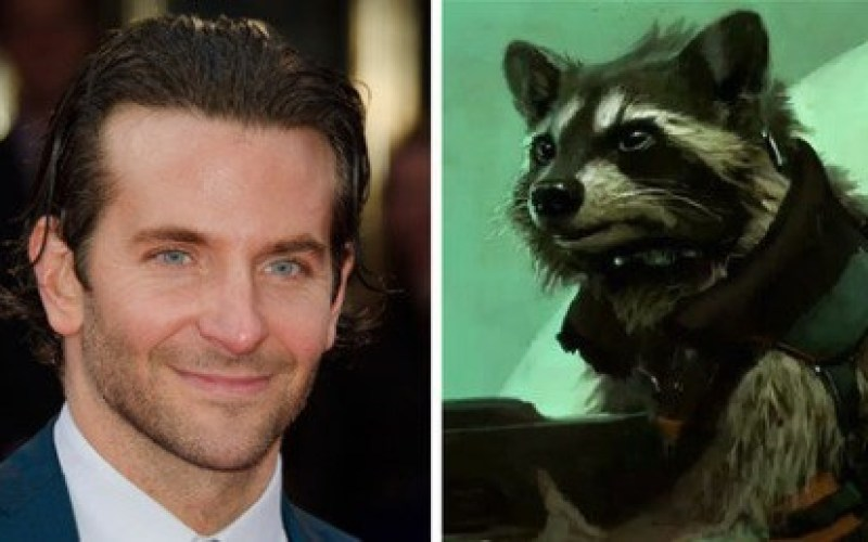 Bradley Cooper as Rocket Raccoon in GUARDIANS OF THE GALAXY