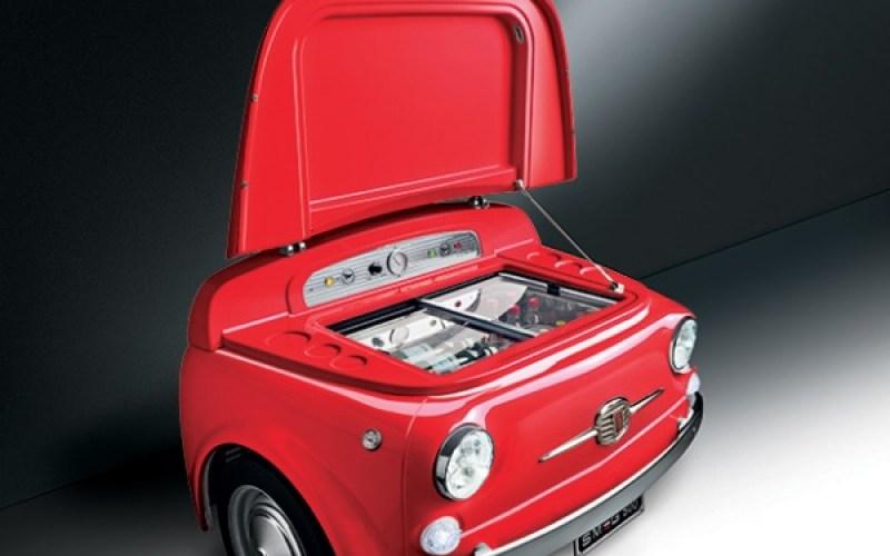 MEG Fiat 500 Refrigerator