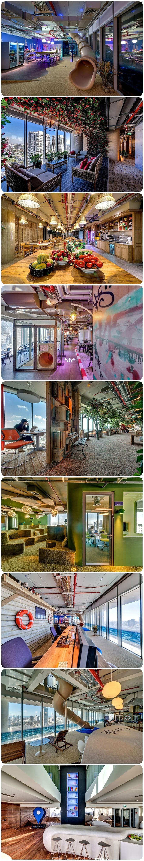 Google's Eclectic Tel Aviv Office