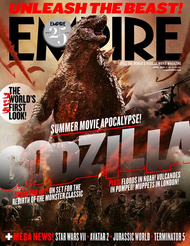 GODZILLA - Empire Magazine Cover