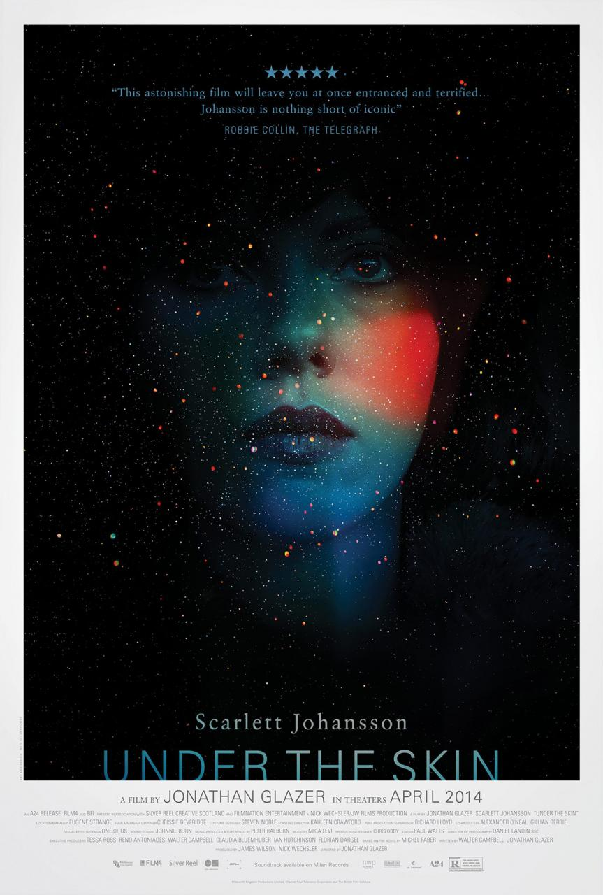 Poster for Sci-Fi Thriller Under The Skin