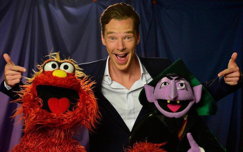 Benedict Cumberbatch's SESAME STREET Challenge