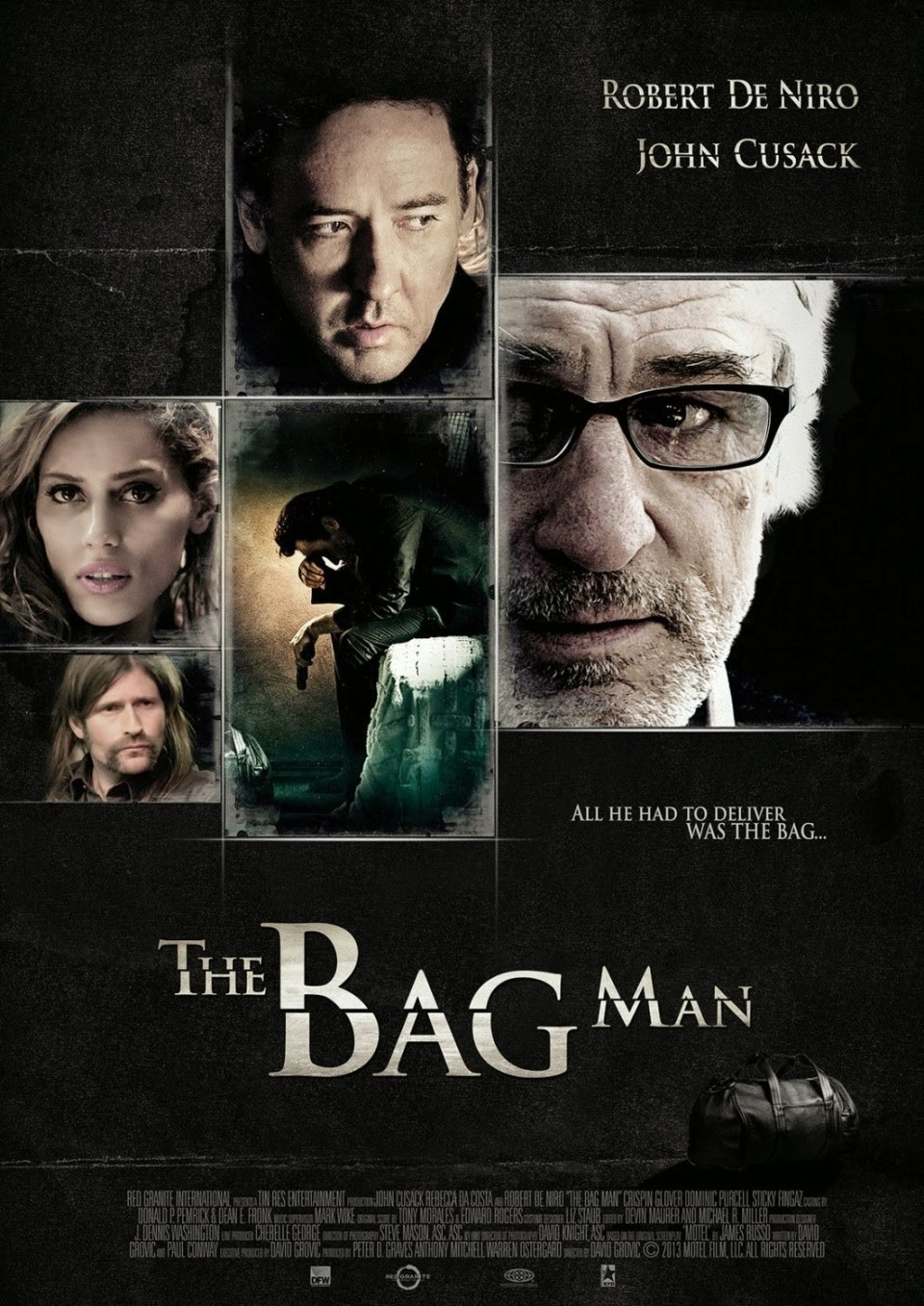 New The Bag Man Movie Poster