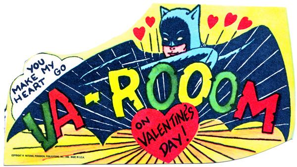 1966 Batman Valentines Cards