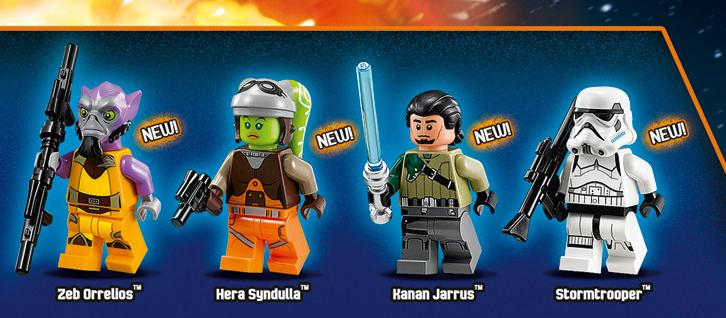 New Characters From STAR WARS REBELS LEGO Set