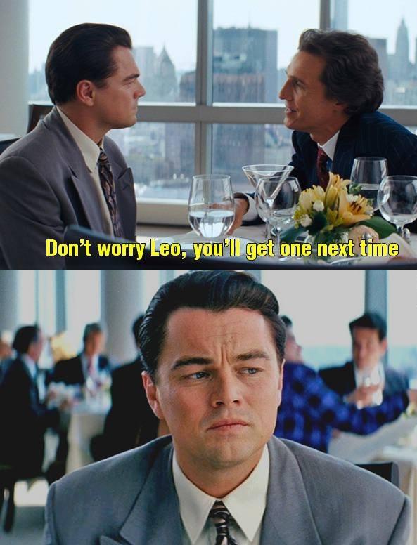 Leonardo Didn't Win The Oscar