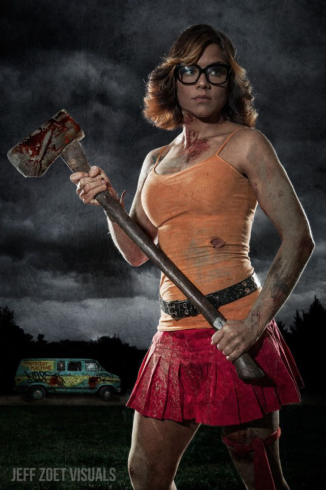 Scooby-Doo Daphne and Velma Apocalyptic Cosplay