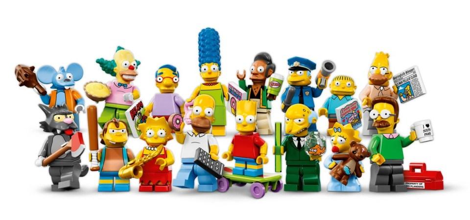 LEGO Simpsons Minifigure Set