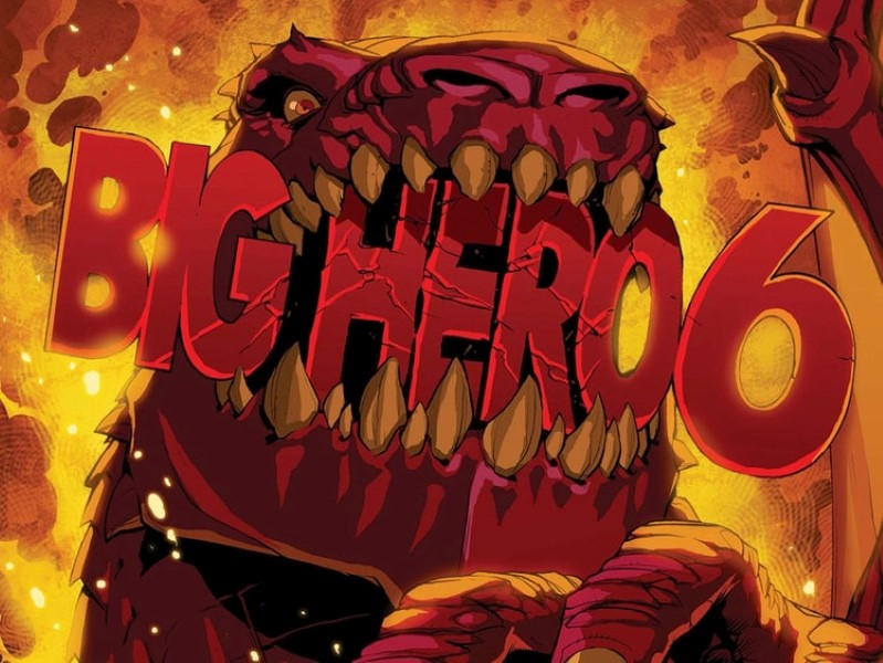 Marvel's New Animated Film BIG HERO SIX