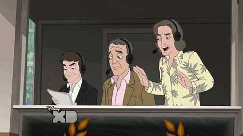 The Top Gear boys on Phineas and Ferb.