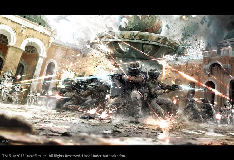 Stormtrooper STAR WARS Art