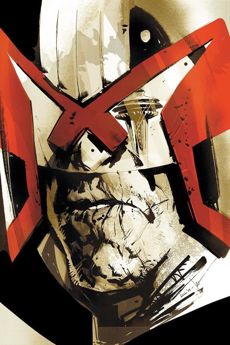 Badass JUDGE DREDD Art
