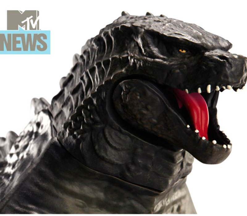 3 Feet Long Godzilla Toy Revealed