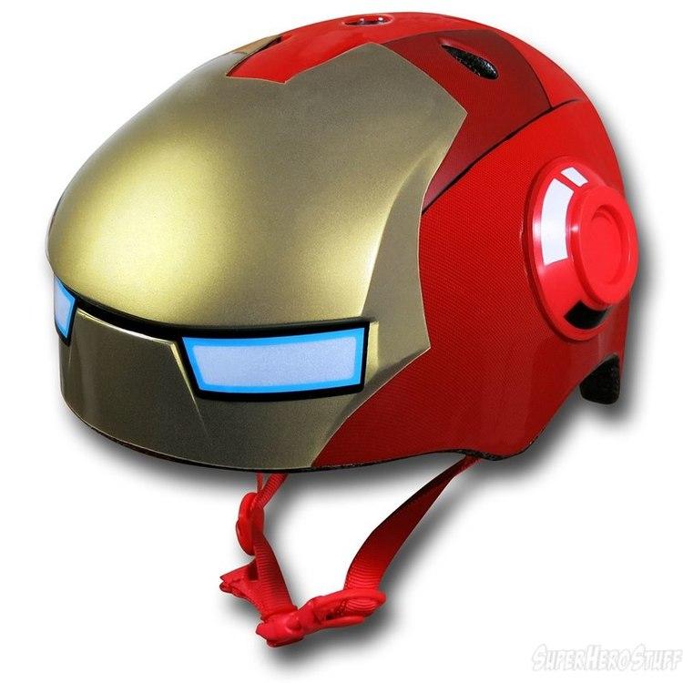 IRON MAN Kids Bike Helmet