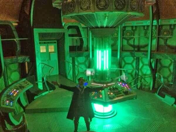 What's Paul McGann doing in this TARDIS