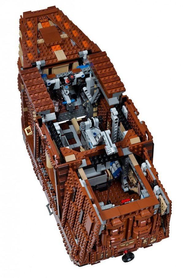 3296-Piece Star Wars Sandcrawler Set Gets Official