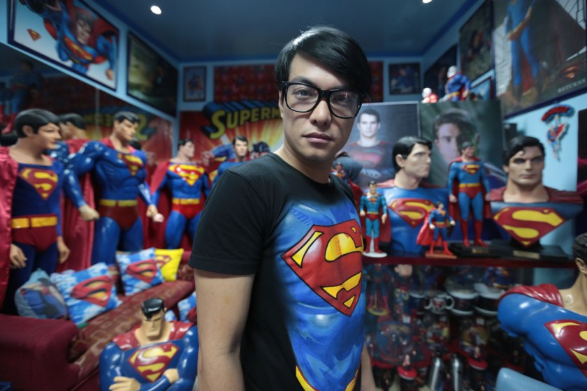 Superman Fan Undergoes Multiple Plastic Surgeries To Look Like His Favourite Superhero