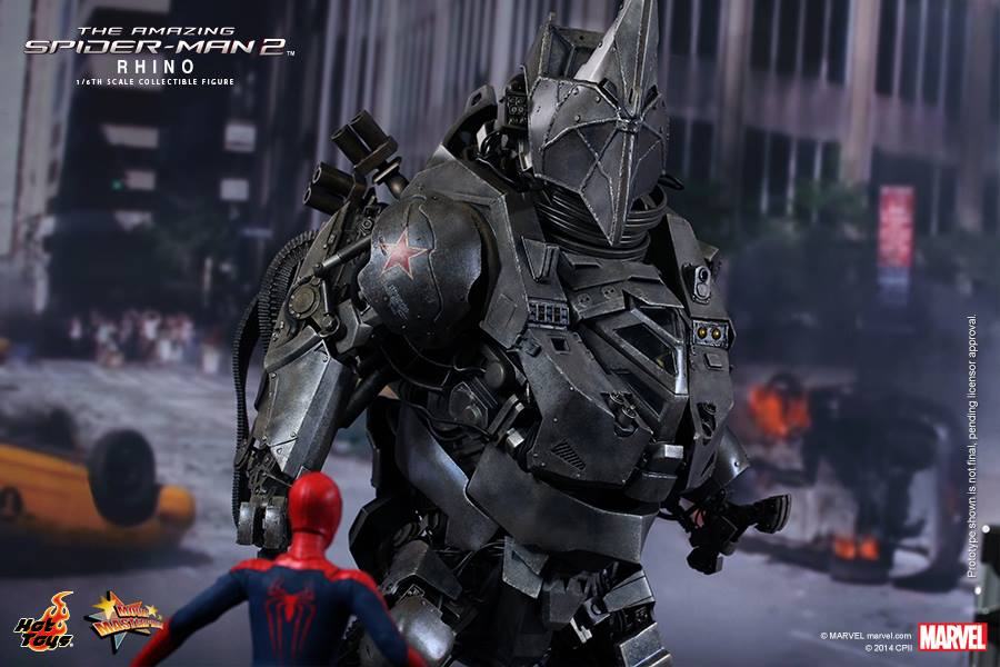 Hot Toys' 1/6th scale Rhino Collectible Figure