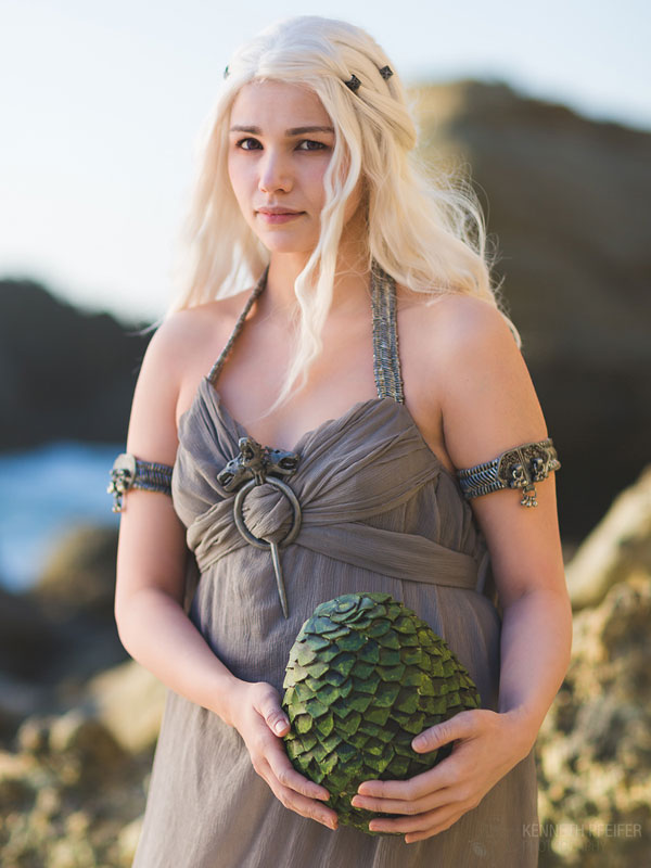 Amazing Drogo and Daenerys Cosplay